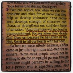 Romans 5,3-5